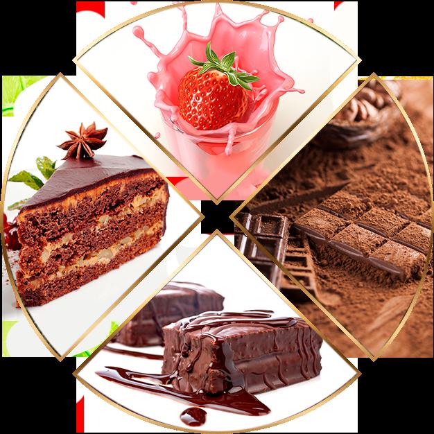 Chocolates e Achocolatado